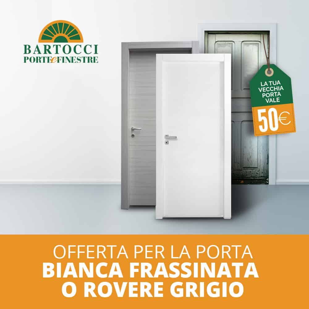 Offerta porte interne-Operazione Rottamazione | Bartocci