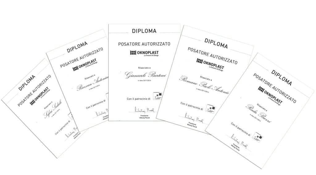 installatori certificati