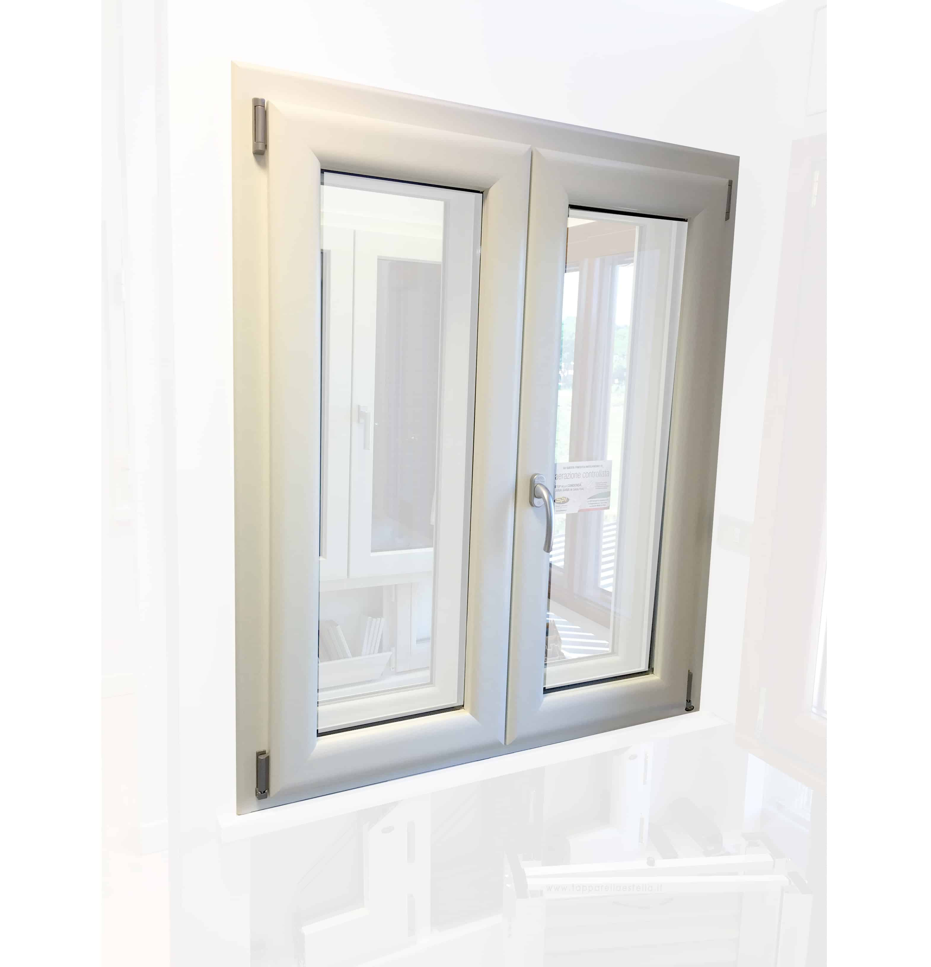 Finestra in alluminio legno trial della spi finestre bartocci porte e finestre - Porte e finestre vicenza ...